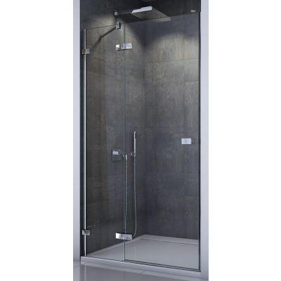 SanSwiss Escura drzwi prysznicowe 120 cm lewe chrom/szkło przezroczyste ES13G1205007