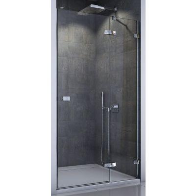 SanSwiss Escura drzwi prysznicowe 80 cm prawe chrom/szkło przezroczyste ES13D0805007