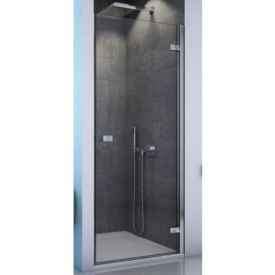 SanSwiss Escura drzwi prysznicowe 90 cm prawe chrom/szkło przezroczyste ES1CD0905007