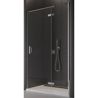 SanSwiss Pur drzwi prysznicowe 120 cm prawe chrom/szkło krople PU13PD1201044