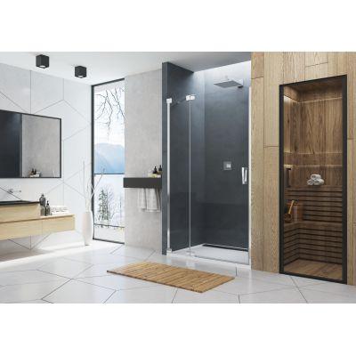 SanSwiss Cadura drzwi prysznicowe 140 cm lewe szkło przezroczyste CA13G1405007