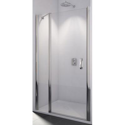 SanSwiss Swing-Line drzwi prysznicowe 110 cm chrom/szkło przezroczyste SL1311005007