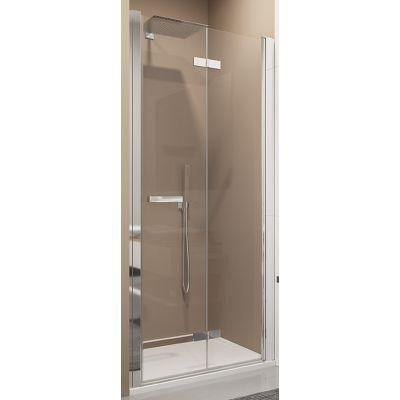 SanSwiss Swing-Line F drzwi prysznicowe 120 cm prawe srebrny mat/szkło przezroczyste SLF1D12000107