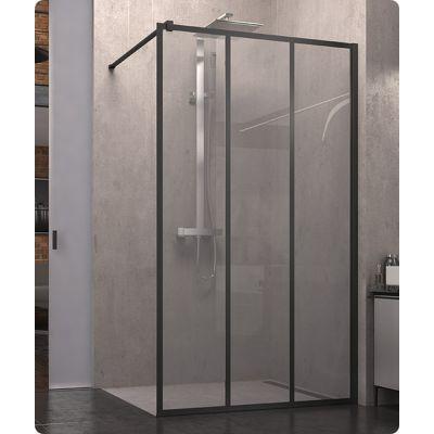 SanSwiss Walk-In Easy ścianka 100 cm boczna wolnostojąca szkło industrie STR4P1000672