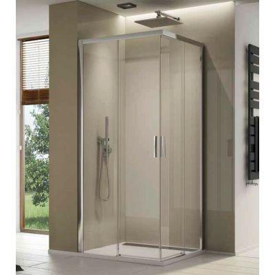 SanSwiss Top-Line S drzwi prysznicowe 90 cm lewe szkło przezroczyste TLSG0905007