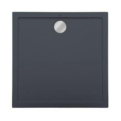 Roca Aeron brodzik kwadratowy 80 cm kompozyt Stonex szary łupek A276284200