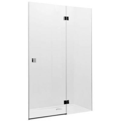 Roca Metropolis drzwi prysznicowe 80 cm szkło przezroczyste AMP3408012M