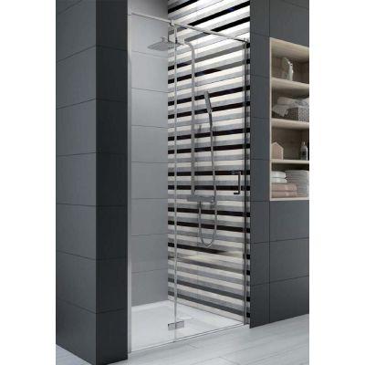 Sanplast Free Line II drzwi prysznicowe 100 cm wnękowe DJ2/FREEII-100 600-261-0340-42-401