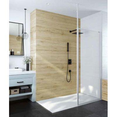 Sanplast Basic P/BASIC ścianka prysznicowa 80 cm Walk-In szkło przezroczyste 600-450-2120-01-400