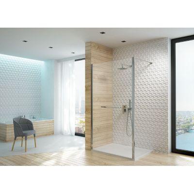 Sanplast Altus PI/ALTIIa ścianka prysznicowa 140 cm Walk-In szkło przezroczyste 600-121-2581-42-401