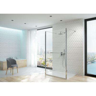 Sanplast Altus PII/ALTIIa ścianka prysznicowa 160 cm Walk-In szkło przezroczyste 600-121-2801-59-401