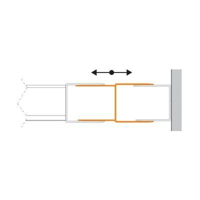 Sanplast TX profil poszerzający drzwi 661-A0037-38