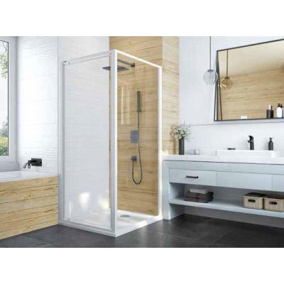 Sanplast Basic SS0/BASIC ścianka prysznicowa 100 cm dodatkowa szkło przezroczyste 600-450-1330-01-400