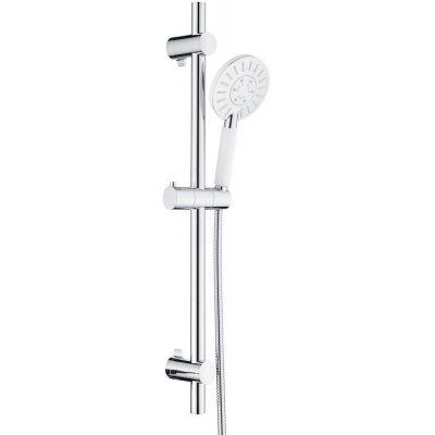 Tiger Splash Akcent zestaw prysznicowy ścienny chrom/biały 1714940144