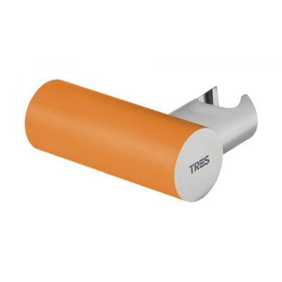 Tres Loft Colors uchwyt prysznicowy pomarańczowy/chrom 061.839.01.NA