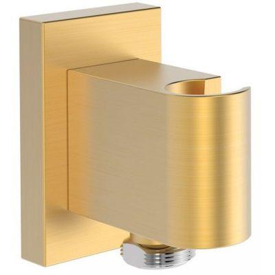 Tres Block System przyłącze kątowe z uchwytem złoty matowy 207.182.02.OM