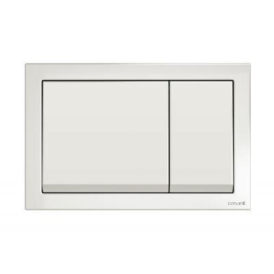 Cersanit Enter przycisk spłukujący do WC tworzywo białe K97-365