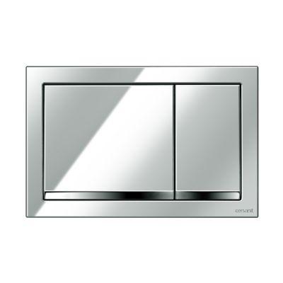 Cersanit Enter przycisk spłukujący do WC chrom błyszczący K97-366