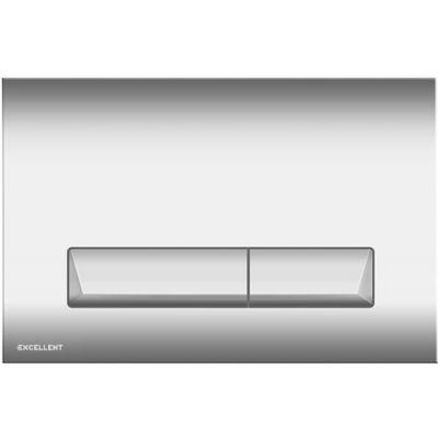 Excellent Platto przycisk spłukujący do WC chrom INEX.PL230.150.CR
