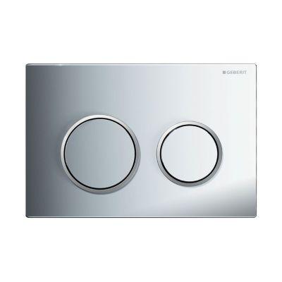 Geberit Omega20 przycisk spłukujący chrom błyszczący / chrom matowy 115.085.KH.1