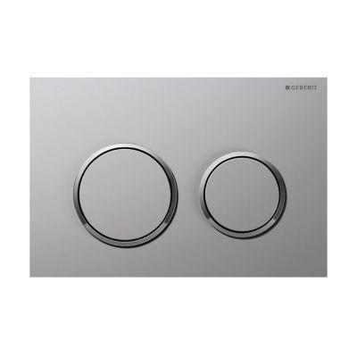 Geberit Omega20 przycisk spłukujący chrom matowy / chrom błyszczący 115.085.KN.1
