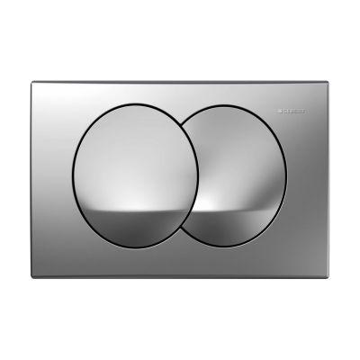Geberit Delta20 przycisk spłukujący przedni chrom matowy UP100 115.100.46.1