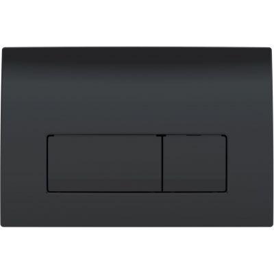 Geberit Delta 51 przycisk spłukujący czarny połysk 115.105.DW.1