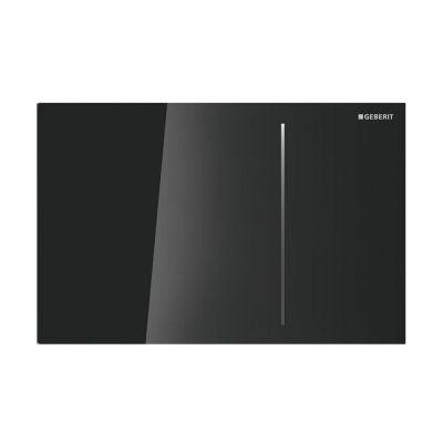 Geberit Sigma70 przycisk spłukujący przedni szkło czarne 115.620.SJ.1