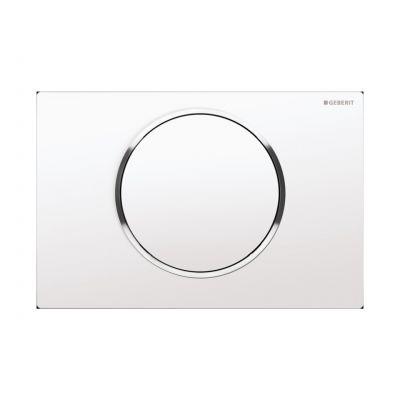 Geberit Sigma10 przycisk spłukujący przedni biały/chrom błyszczący/bialy 115.758.KJ.5