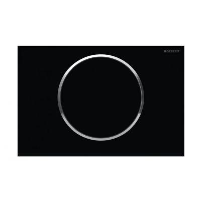 Geberit Sigma10 przycisk spłukujący czarny/chrom błyszczący 115.758.KM.5