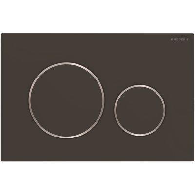 Geberit Sigma20 przycisk spłukujący czarny mat/chrom błyszczący 115.882.14.1