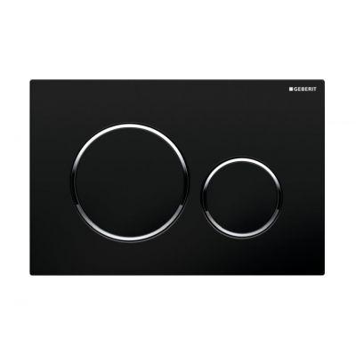 Geberit Sigma20 przycisk spłukujący czarny/chrom błyszczący/czarny 115.882.KM.1