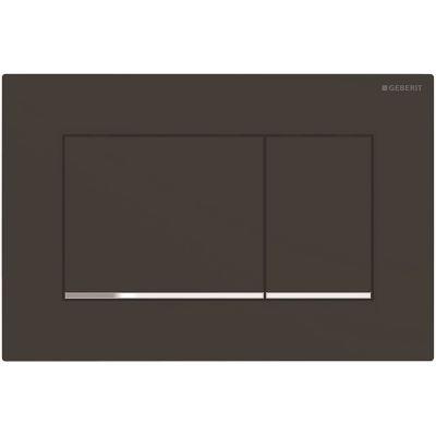 Geberit Sigma30 przycisk spłukujący czarny mat/chrom błyszczący 115.883.14.1