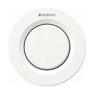 Geberit Typ01 przycisk spłukujący WC pneumatyczny biały 116.040.11.1