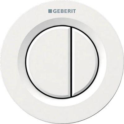 Geberit Typ01 przycisk spłukujący WC pneumatyczny biały-alpin 116.042.11.1