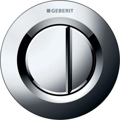 Geberit Typ01 przycisk spłukujący pneumatyczny chrom błyszczący 116.042.21.1