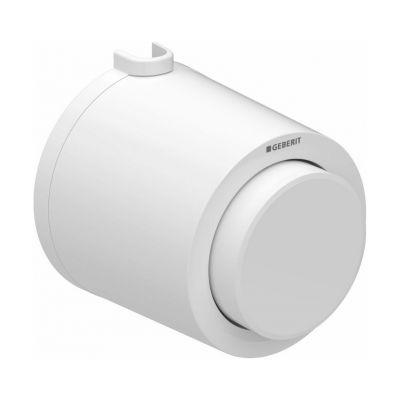 Geberit Typ01 przycisk spłukujący WC pneumatyczny biały-alpin 116.047.11.1