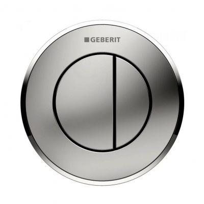 Geberit Typ01 przycisk spłukujący WC pneumatyczny biały/złoty 116.056.KK.1