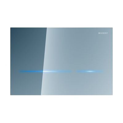 Geberit Sigma80 przycisk spłukujący elektroniczny szkło lustrzane 116.092.SM.1