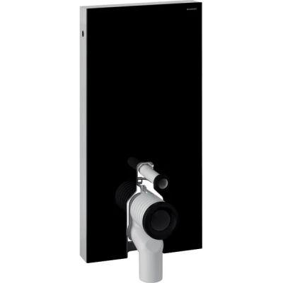Geberit Monolith moduł sanitarny do WC stojącego szkło/czarny 131.003.SJ.5