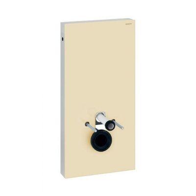 Geberit Monolith moduł sanitarny do WC wiszącego H101 szkło piaskowe - sand/aluminium 131.022.TG.5