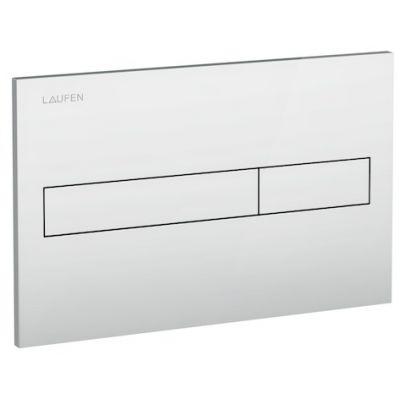 Laufen przycisk spłukujący do WC chrom matowy H8956610070001