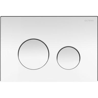 Oltens Lule przycisk spłukujący do WC chrom błyszczący 57102100