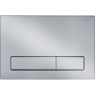 Oltens Torne przycisk spłukujący do WC chrom matowy 57101200