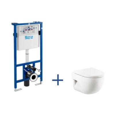 Zestaw Roca Meridian Compacto miska WC ze stelażem podtynkowym Duplo A89009000C (A890090020, A346248000)