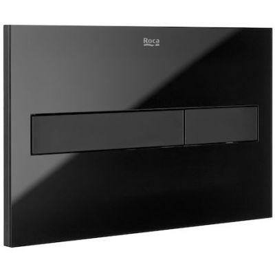 Roca PL7 przycisk spłukujący czarny mat/szkło A890188308