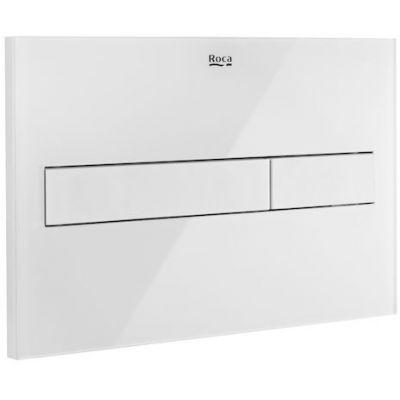 Roca PL7 przycisk spłukujący biały mat/szkło A890188309