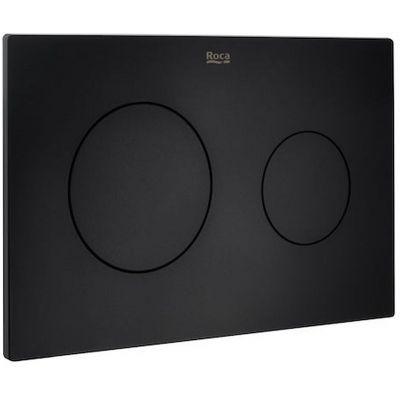 Roca PL10 przycisk spłukujący czarny mat A890189206