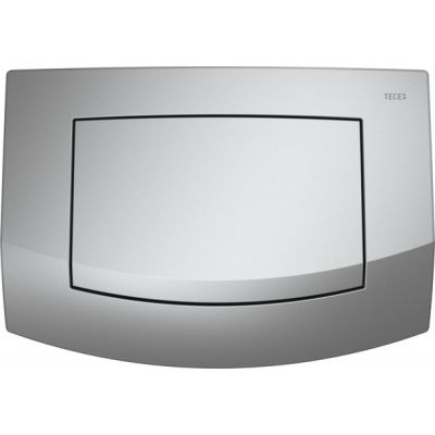 Tece Ambia przycisk spłukujący do WC chrom matowy 9.240.125
