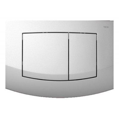 Tece Ambia przycisk spłukujący do WC chrom matowy 9.240.225